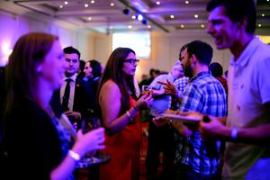Supporters attend the Better Together Referendum Night event wait for the results to come in on September 19, 2014 at the Marriott Hotel in Glasgow, Scotland.   (Photo by Mark Runnacles/Getty Images)