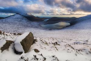 Snow on the Mourne Mountains. Pic: Steven Hylands