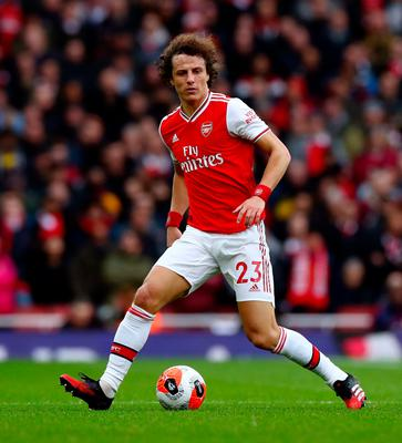 New deal: David Luiz is staying at Arsenal despite criticism