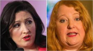 Emma Little Pengelly and Naomi Long clashed on social media.