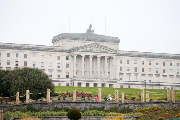 The Executive Office has claimed it cannot afford to pay for the pension. Picture by Jonathan Porter/PressEye