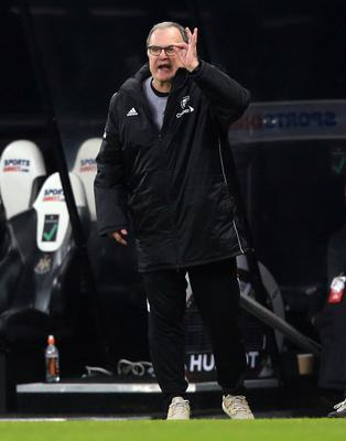 Marcelo Bielsa was pleased to see his team end their poor run (Lindsey Parnaby/PA)