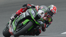 World star: Jonathan Rea in action