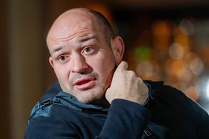 Rory Best pictured by Colm O'Reilly earlier this year