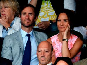 File photo dated 06/07/16 of Pippa Middleton and James Matthews as the pair will wed today at an event dubbed the society wedding of the year. PRESS ASSOCIATION Photo. Issue date: Saturday May 20, 2017. See PA story ROYAL Pippa. Photo credit should read: Anthony Devlin/PA Wire