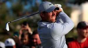 Rory McIlroy's back nine didn't go to plan on the South Course on Friday.