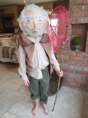 Bella McEvoy age 7 from Moira as the BFG