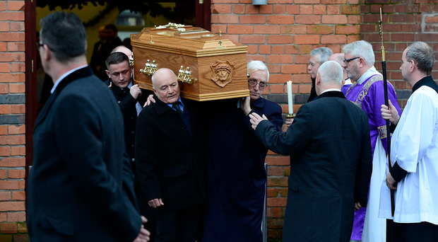 The funeral of Frances Murray took place at Sacred Heart Church, Oldpark Road in Belfast