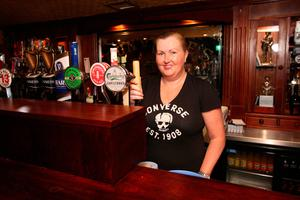 Lesa McCann of the Cellar Bar and Lounge in Lurgan is getting ready for reopening