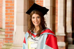 Paralympic gold medallist Bethany Firth was awarded an honorary doctorate for distinction in sport from Queen's University Belfast.