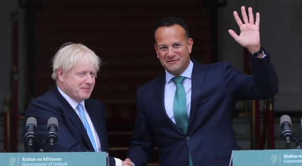 Boris Johnson and Leo Varadkar have discussed the idea recently (PA)