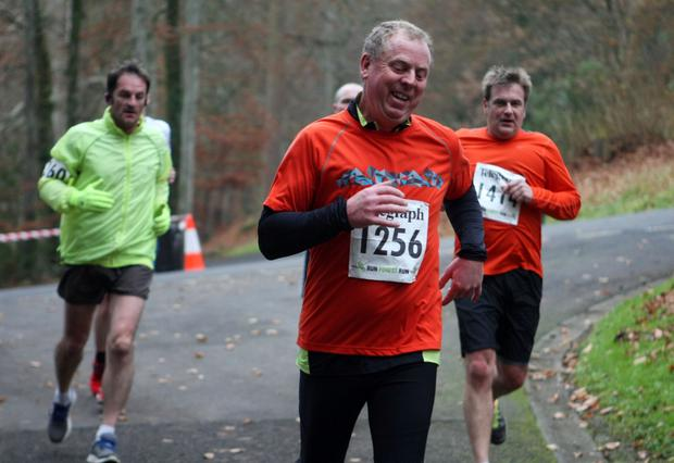 Mandatory Credit - Picture by Freddie Parkinson/Press Eye © Saturday 3rd December 2016 Belfast Telegraph Run Forest Run Loughgall. Loughgall Country Park, 11-14 Main Street, Loughgall, Armagh.  james crawford 10K ARMAGH