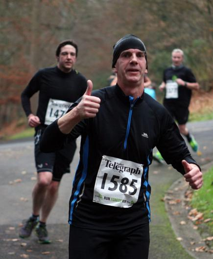 Mandatory Credit - Picture by Freddie Parkinson/Press Eye © Saturday 3rd December 2016 Belfast Telegraph Run Forest Run Loughgall. Loughgall Country Park, 11-14 Main Street, Loughgall, Armagh.  Andrew Topping 10K Larne