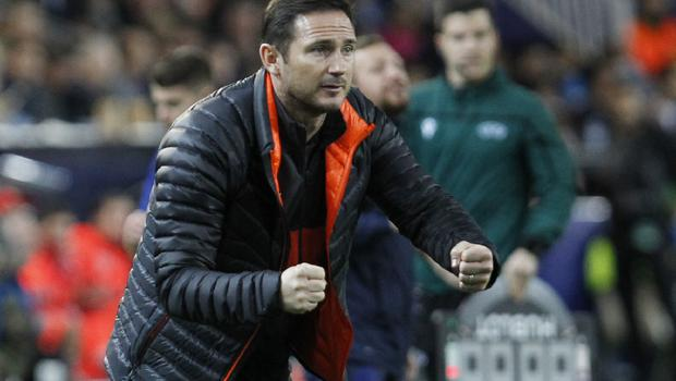 Chelsea's head coach Frank Lampard's side were unable to secure their last-16 spot (AP Photo/Alberto Saiz)