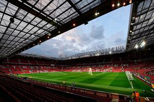 A general view of the stadium prior to kickoff during the UEFA Europa League Group A match between Manchester United FC and Fenerbahce SK at Old Trafford on October 20, 2016 in Manchester, England.  (Photo by Laurence Griffiths/Getty Images)