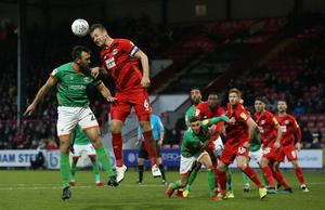 The League Two season could be curtailed (Jonathan Brady/PA)