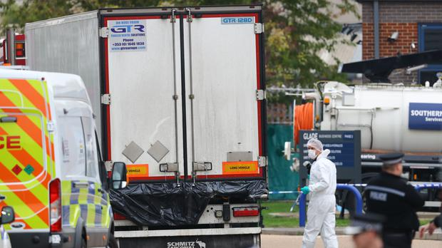 Detectives have spoken by telephone to Ronan Hughes, one of the brothers wanted over the deaths of 39 migrants found in the back of a lorry in Essex (Aaron Chown/PA)