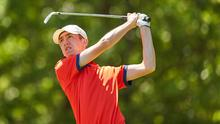 Tom McKibben is aiming high at this week's Irish Open - his sixth start at a professional tournament.