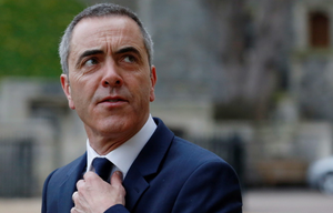James Nesbitt arrives for a reception for the British Film Industry held by Queen Elizabeth II  and the Duke of Edinburgh at Windsor Castle