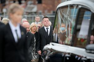 Press Eye - Belfast - Northern Ireland - 30th June 2020  The funeral of Bobby Storey has taken place in Belfast.  Photo by Philip Magowan / Press Eye