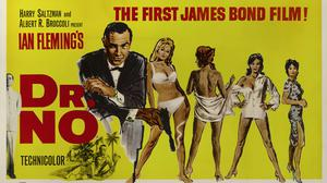 Mitchell Hooks' Dr No poster (Sotheby's/PA)