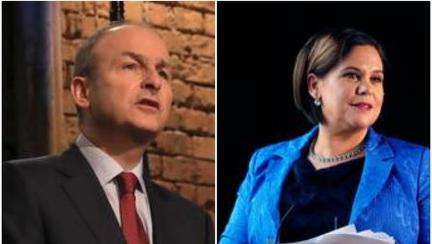 Younger voters are giving Sinn Fein a boost, as Fianna Fail remains in the lead