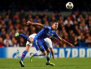 LONDON, ENGLAND - SEPTEMBER 18:  Marco van Ginkel of Chelsea in action during the UEFA Champions League Group E Match between Chelsea and FC Basel at Stamford Bridge on September 18, 2013 in London, England.  (Photo by Clive Rose/Getty Images)