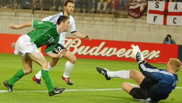 Robbie Keane scored a record 68 goals for Ireland (Kirsty Wigglesworth/PA)