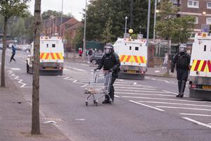 Police in north Belfast