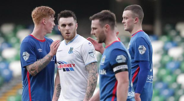 Ballymena and Linfield will face off once again.