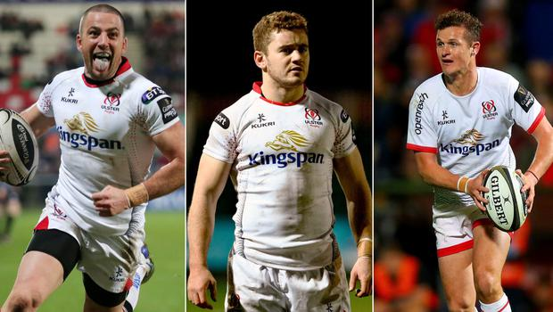 Ian Humphreys, Paddy Jackson and Billy Burns are up for Ulster's top fly-half of the 2010s.