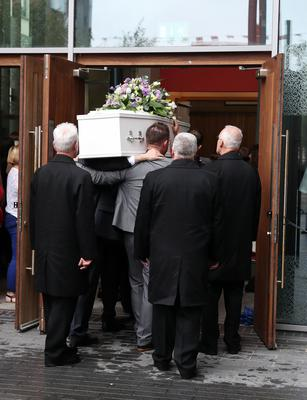 Funeral of Aundrea Bannatyne - Ease Belfast Mission - 21st August 2017 