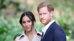 Prince Harry, Duke of Sussex and Meghan, Duchess of Sussex (Photo by Chris Jackson/Getty Images)