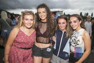 Fans at Belfast Vital to see Dutch DJ Tiesto. Saturday 26th August 217. Picture by Liam McBurney/RAZORPIX