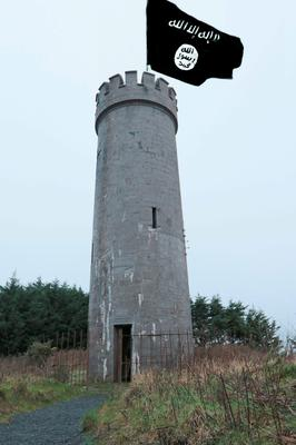 Website claimed Kildare landmark had been renamed Hill of Allah Picture: Kildare Now