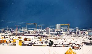 General views of Snow in Belfast on December 8th 2017 (Photo by Kevin Scott / Belfast Telegraph)