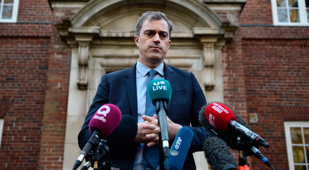 Northern Ireland Secretary of State Julian Smith. Photo by Charles McQuillan/Getty Images