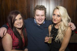 Ollies Christmas pictured Niamhbert Murray, Craig Gibson and Jessica Alice MCCartney
