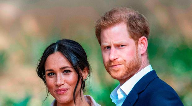 Harry and Meghan in Africa