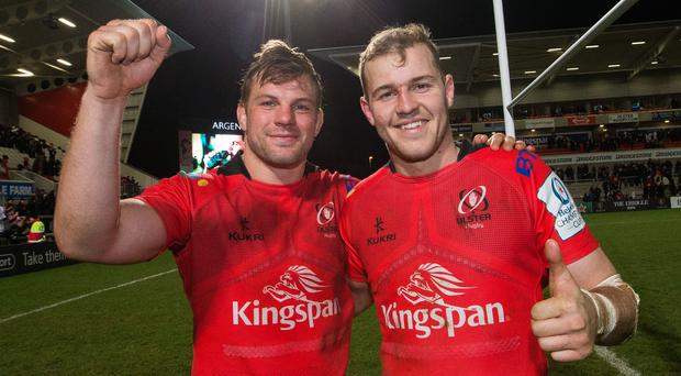 Jordi Murphy and Will Addison are back on Ulster duty this weekend Credit ©INPHO/Tommy Dickson