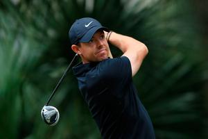 Rory McIlroy in action at Harbour Town Golf Links.