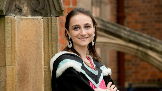 Felicity McKee has graduated with a First Class Honours in (BA Hons) Social Anthropology from the School of History, Anthropology, Philosophy and Politics at Queen's University Belfast.