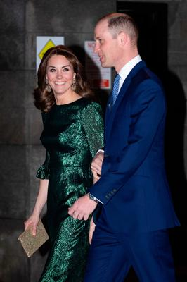 The Duke and Duchess of Cambridge arrive for a reception hosted by the British Ambassador to Ireland at the Gravity Bar, Guinness Storehouse, Dublin, during their three day visit to the Republic of Ireland. PA Photo. Picture date: Tuesday March 3, 2020. See PA story ROYAL Cambridge. Photo credit should read: Aaron Chown/PA Wire