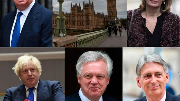 Theresa May kept her senior ministers in post after suffering humiliating losses in the snap election.  AFP/Getty Images