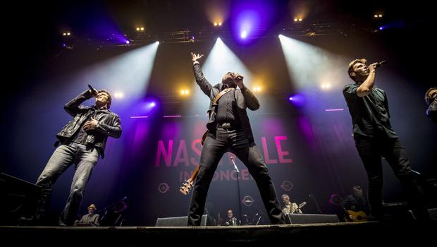 Nashville perform their final show of the tour at the SSE Arena in Belfast on April 24th 2018 (Photo by Kevin Scott / Belfast Telegraph)