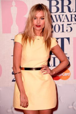 LONDON, ENGLAND - FEBRUARY 25:  Laura Whitmore attends the BRIT Awards 2015 at The O2 Arena on February 25, 2015 in London, England.  (Photo by Ian Gavan/Getty Images)