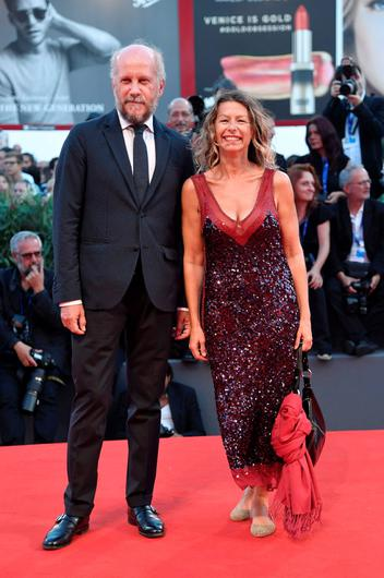 "Actress and director Amanda Sandrelli (R) attends the premiere of the movie ""Jackie"" presented in competition at the 73rd Venice Film Festival on September 7, 2016. / AFP PHOTO / TIZIANA FABITIZIANA FABI/AFP/Getty Images"