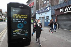 New coronavirus restrictions come into place on November 27  (Press Eye)