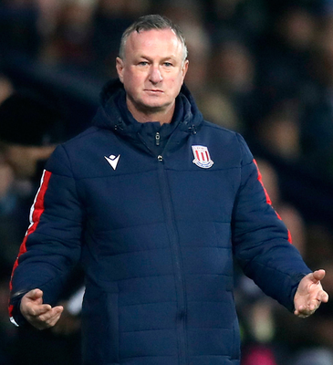 Top coach: Michael O'Neill, who was managing Stoke City last night, won the Coach of the Year award for his exploits with Northern Ireland