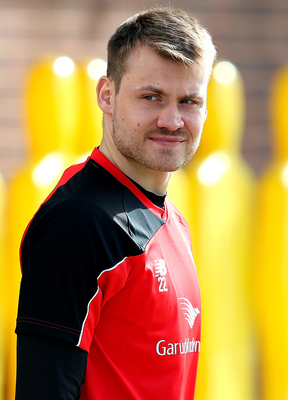 Final say: Simon Mignolet aims to be a Wembley winner